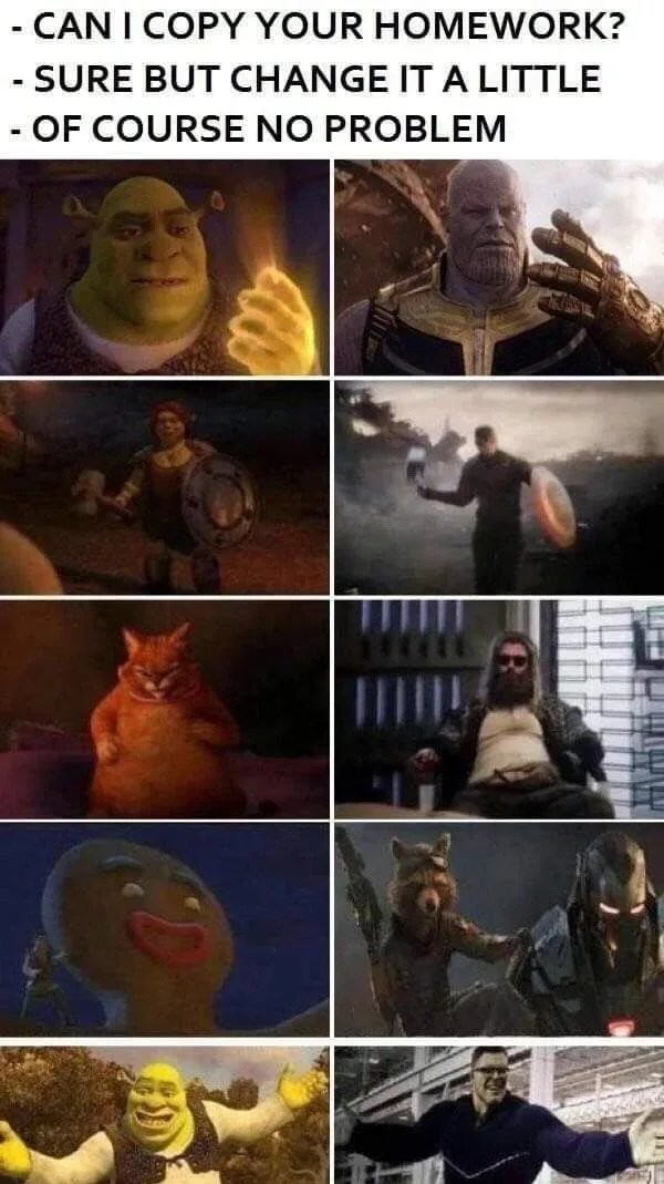 Shrek to Infinity - meme