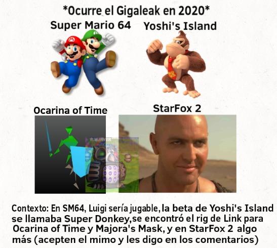Acepten y les paso el contexto de StarFox 2 - meme