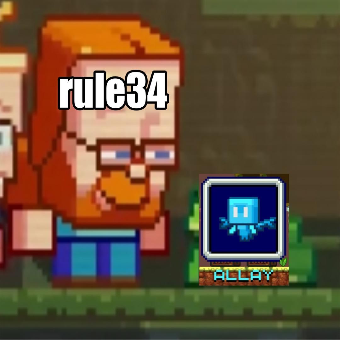 Sintio que le van a hacerle rule 34 al allay :( - meme