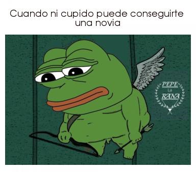 Ni cupido puede :v - meme