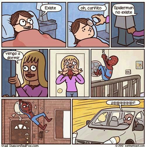 spidey es una buena madre xd - meme
