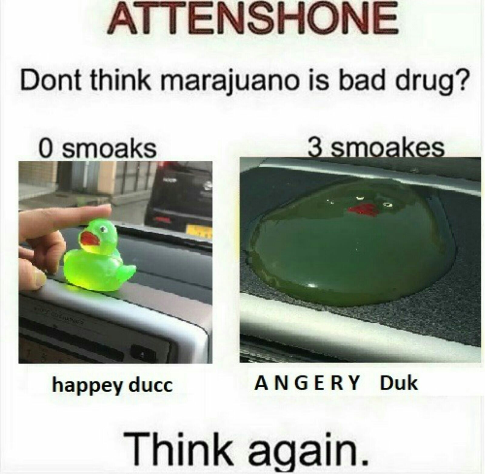 Bad ducko - meme
