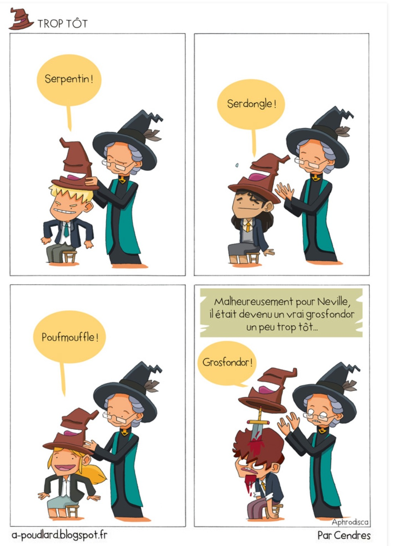 Neville, un vrai grosfondore ! - meme