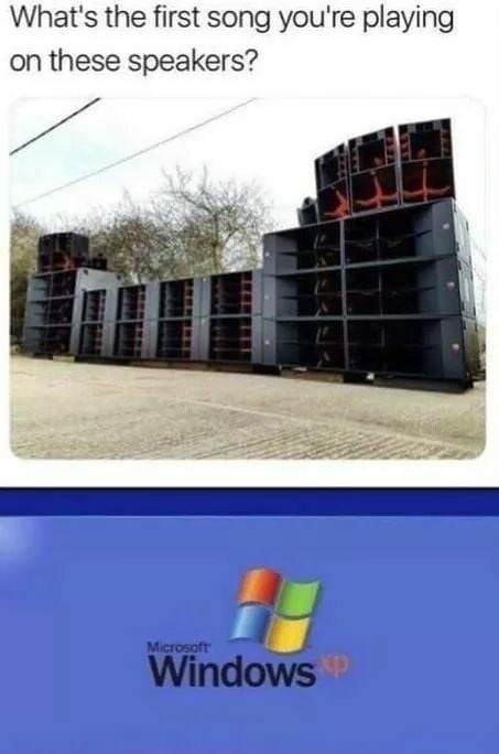 Windows XP Startup sound - meme