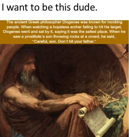 I want to be this dude - meme