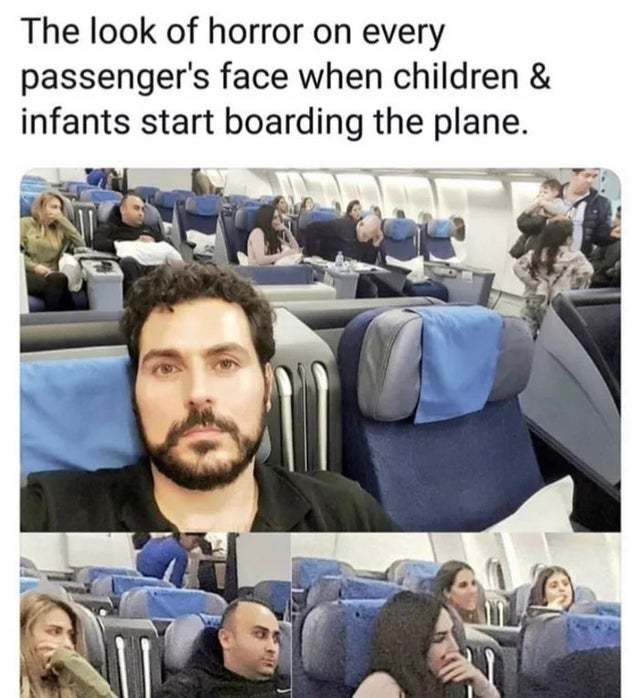 Thi sis not gonna be a silent flight - meme