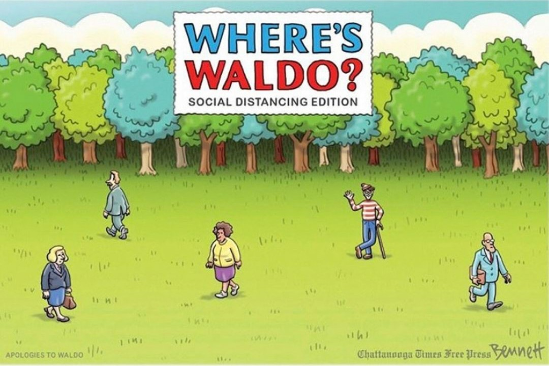 waldo is impossible to find - meme