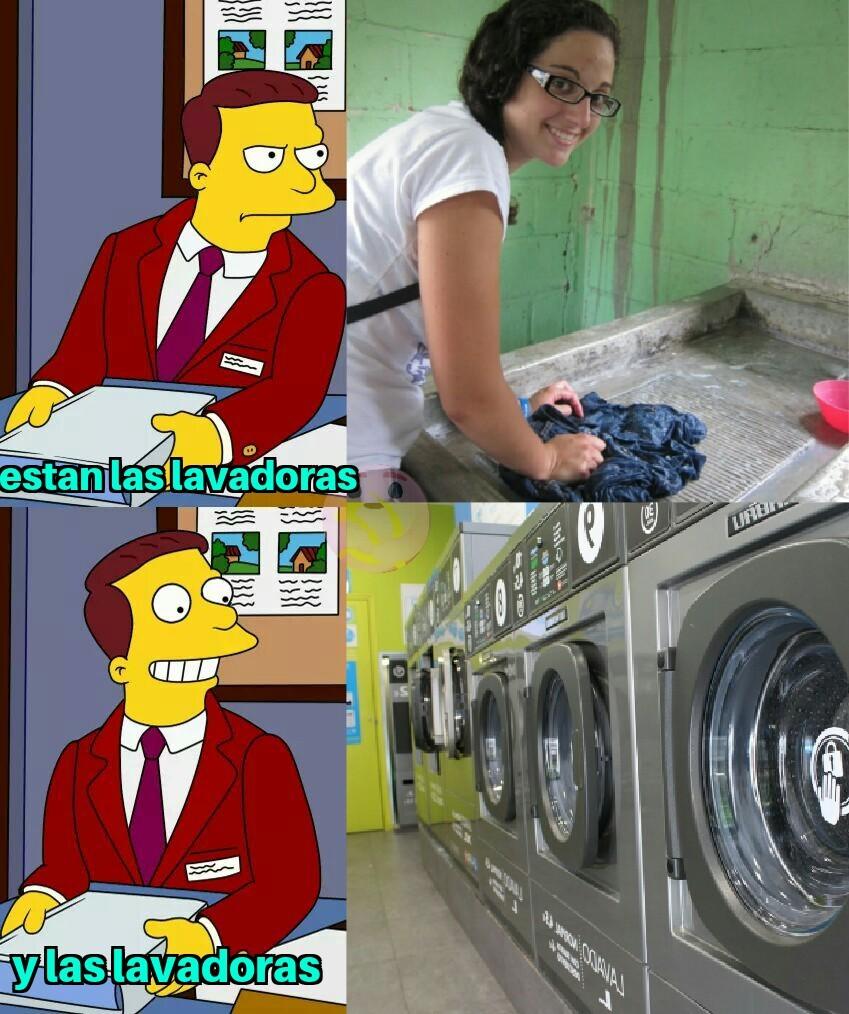 Las lavadoras humanas son 2 en 1 Saco de boxiar y sumisas por naturaleza divina - meme