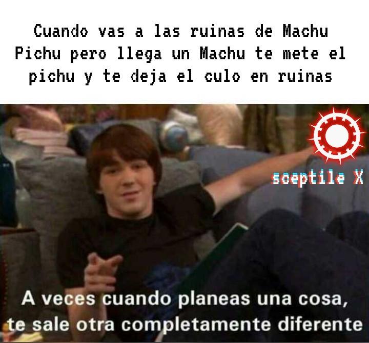 Machu Picchu - meme