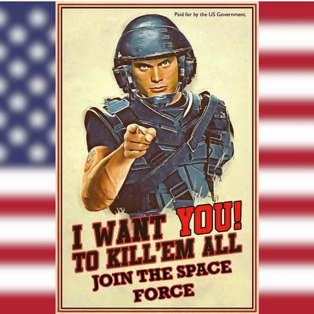 join the mobile infantry! - meme
