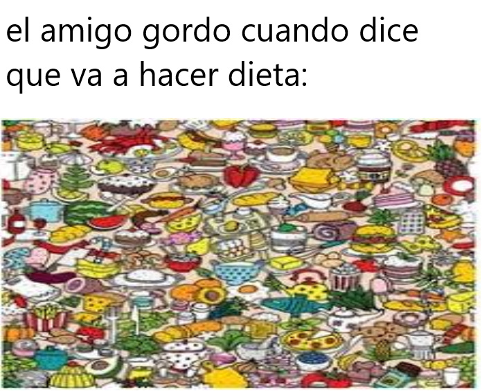 dieta decia - meme