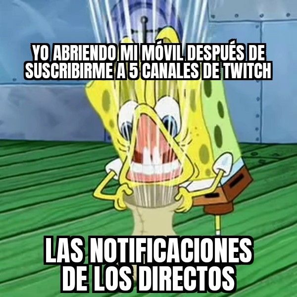 Notificaciones... - meme