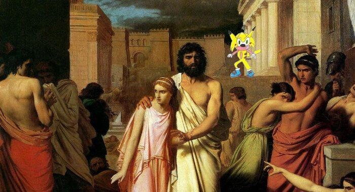 Sócrates estaba adelantado a su época - meme