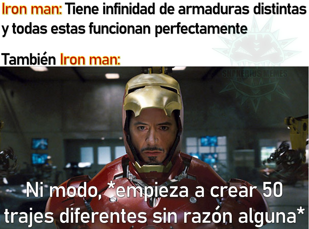 Iron Destroyer VS Hellbat, quien gana? - meme