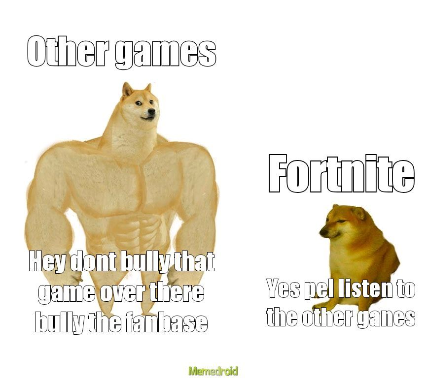 The fanbase is shit not the game 0/10 fanbase 6/10 game - meme