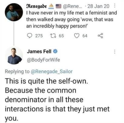 self-own - meme