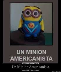 Minion americanista - meme