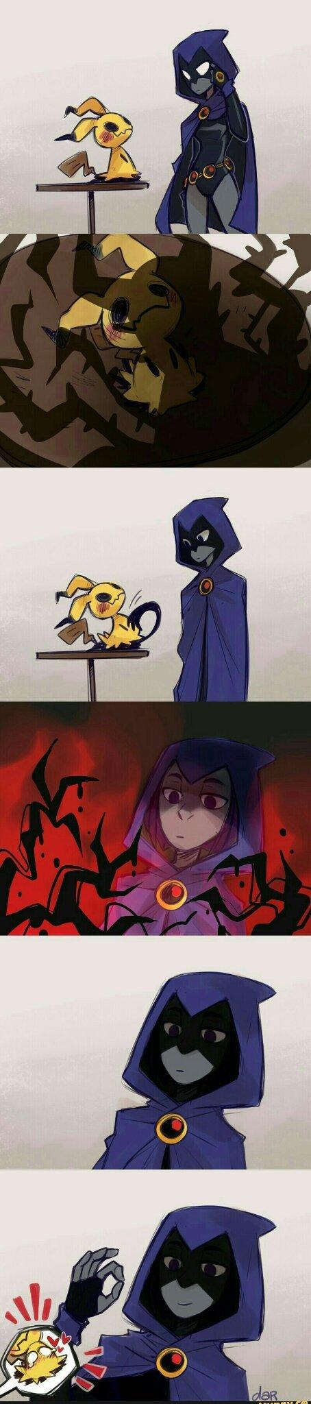 Mimikyu is best - meme