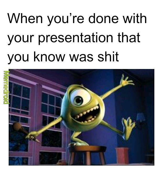 Monster inc - meme