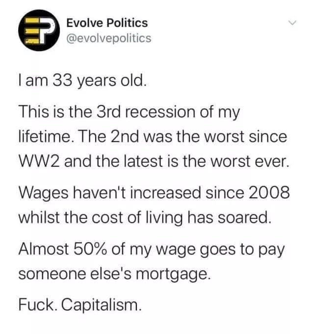 fuck. capitalism - meme