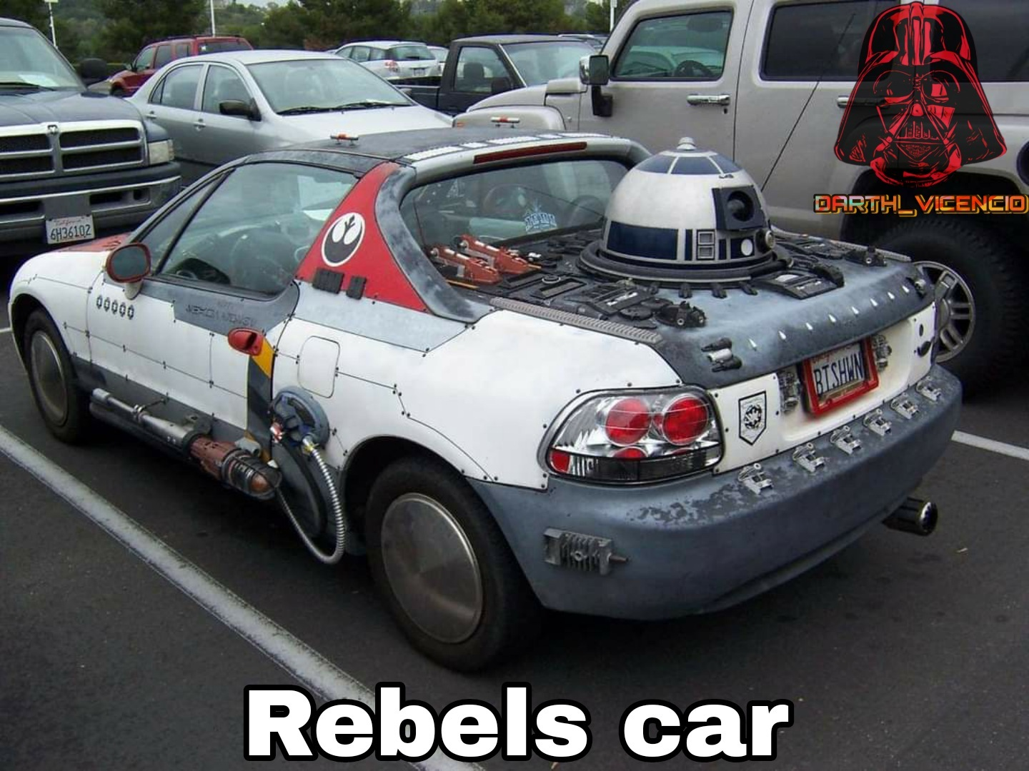 Rebels car - meme