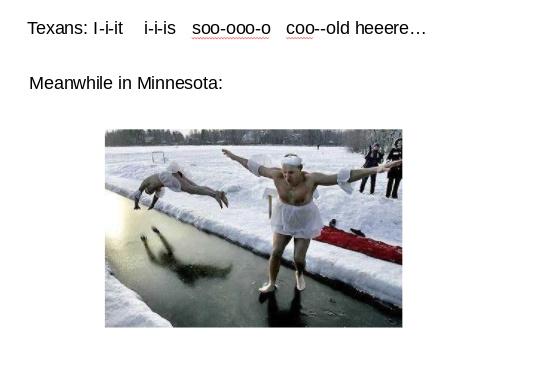 Having fun in Minnesota! - meme