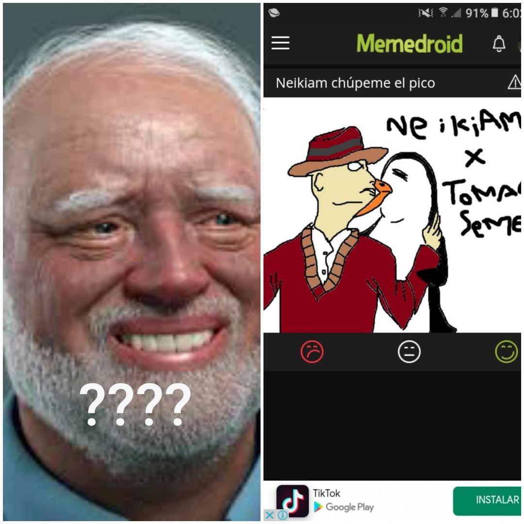 Me salio como 50 veses en moderacion - meme
