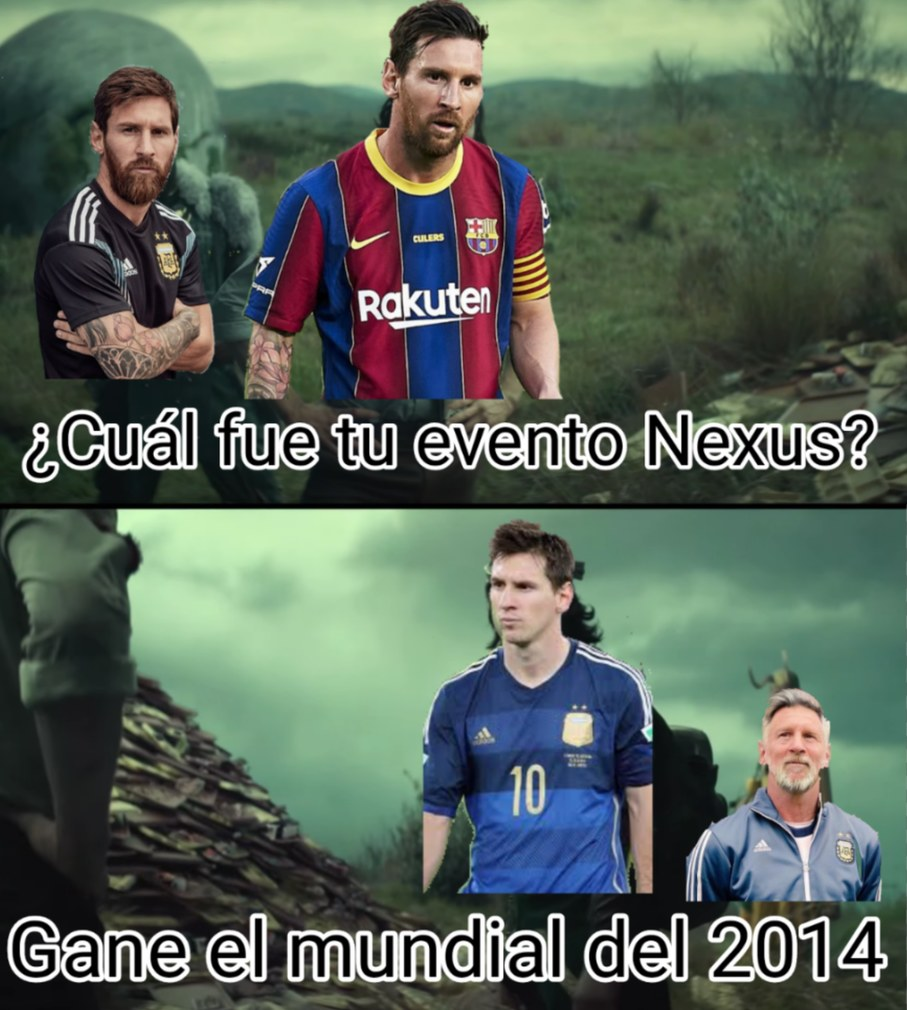 Les juro que es el último meme de Messi