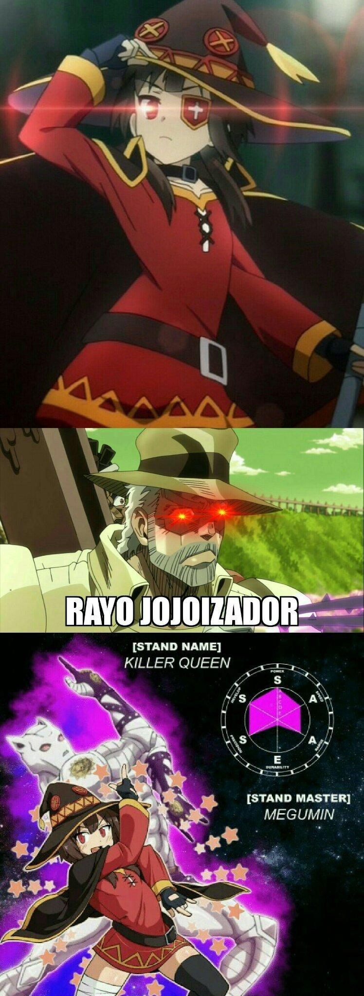 Megumin Yoshikage - meme