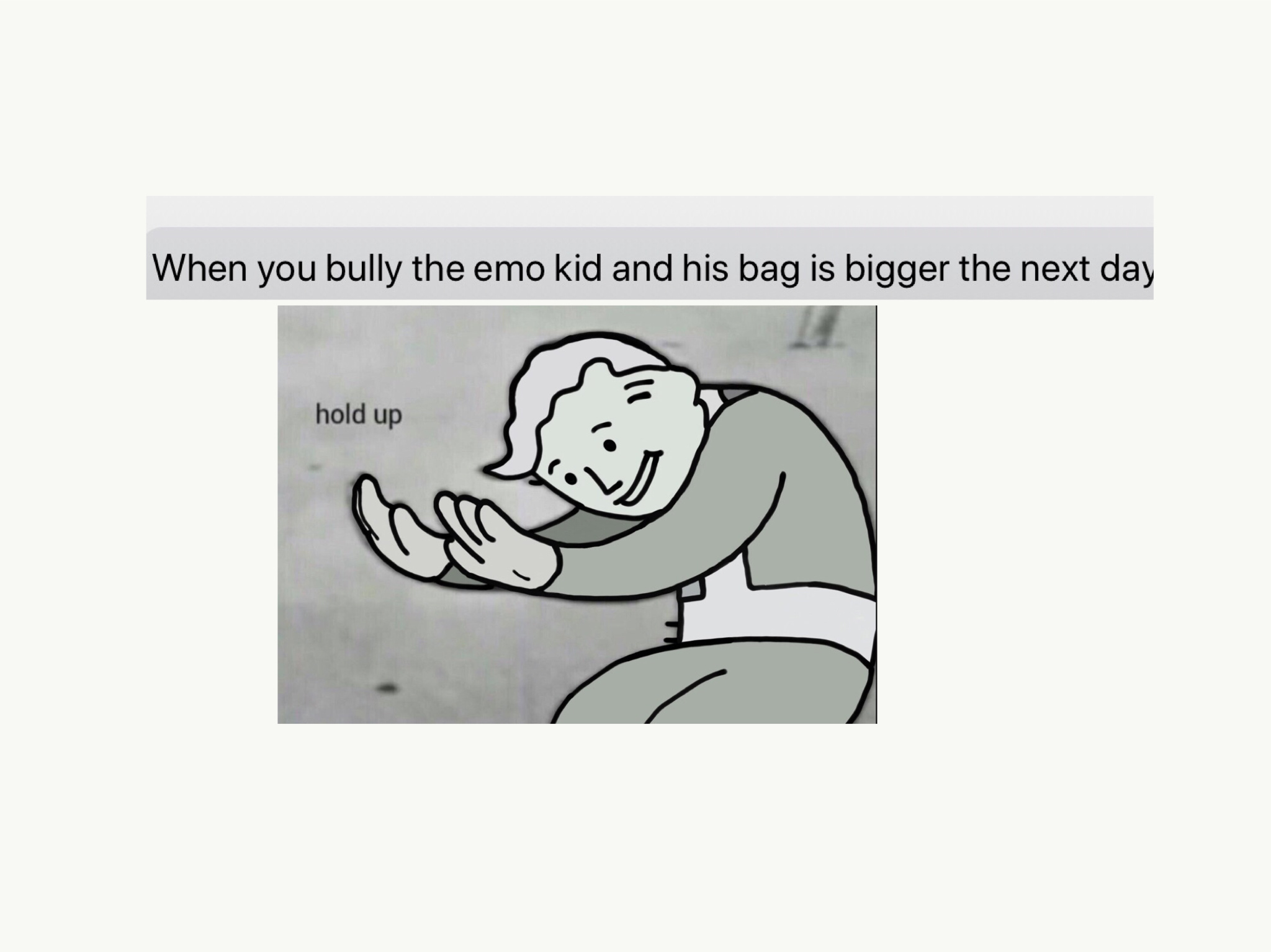 Bag - meme
