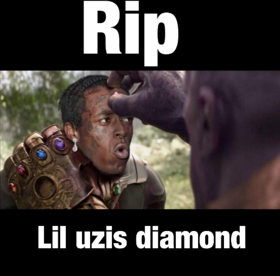 Lil uzi Rip - meme