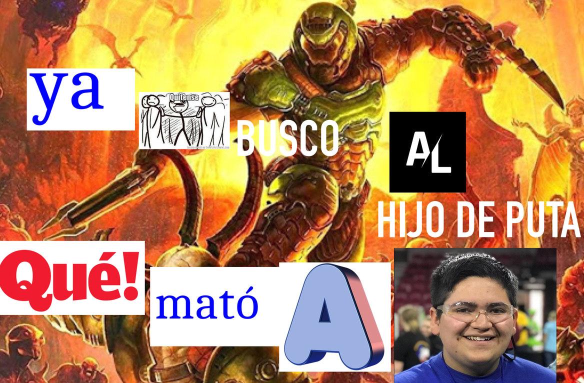 Yo en el infierno - meme