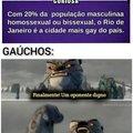 Gaúchos não foram inseridos no cálculo por hack, change my mind.