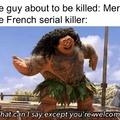 Mercy= pitié