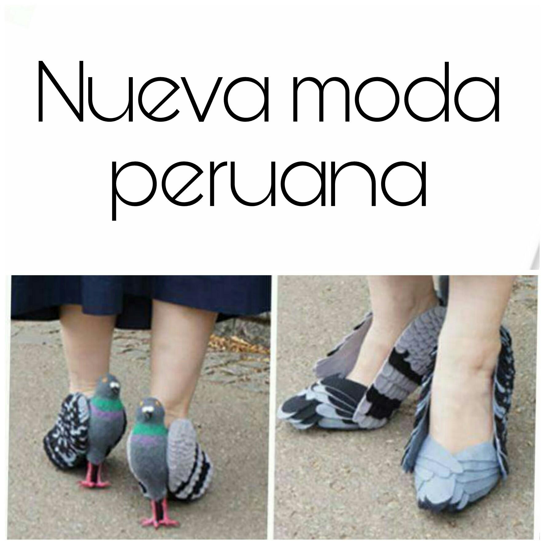 Estos Peruanos - meme