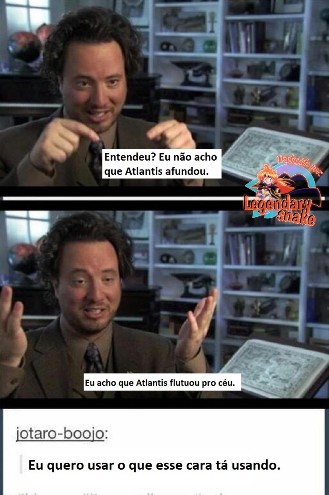 Atlantis: O reino perdido - meme