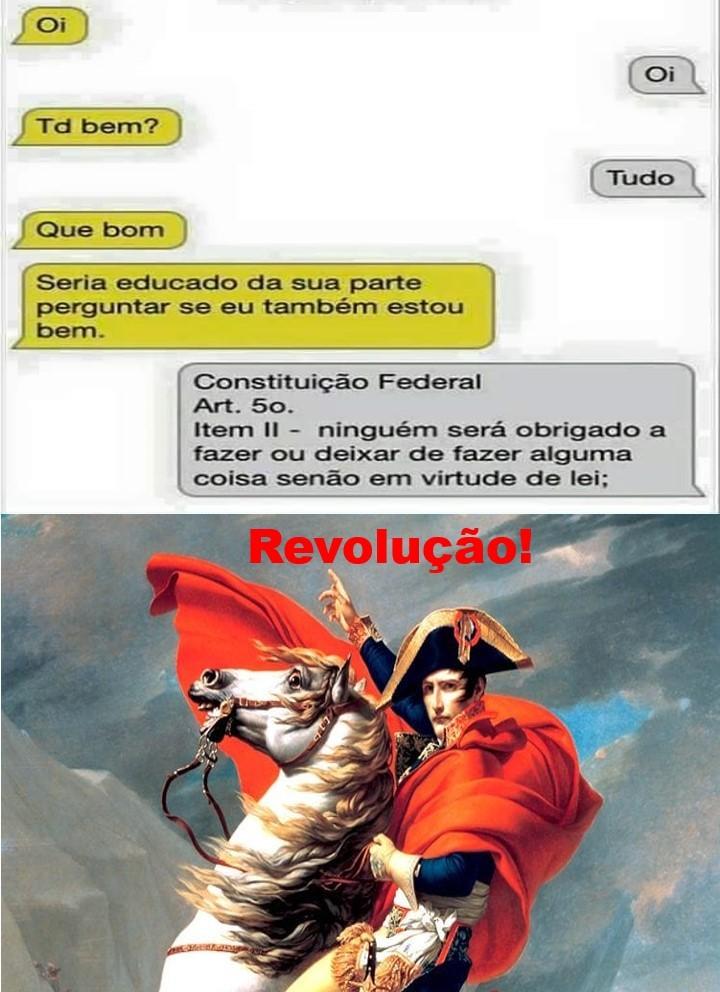 Revolução!! - meme