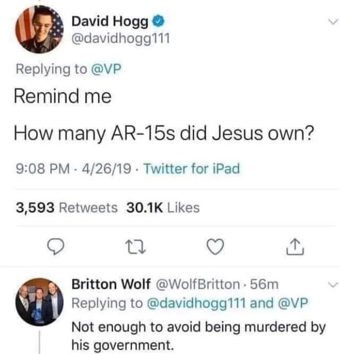 AR-15 goes brrr - meme