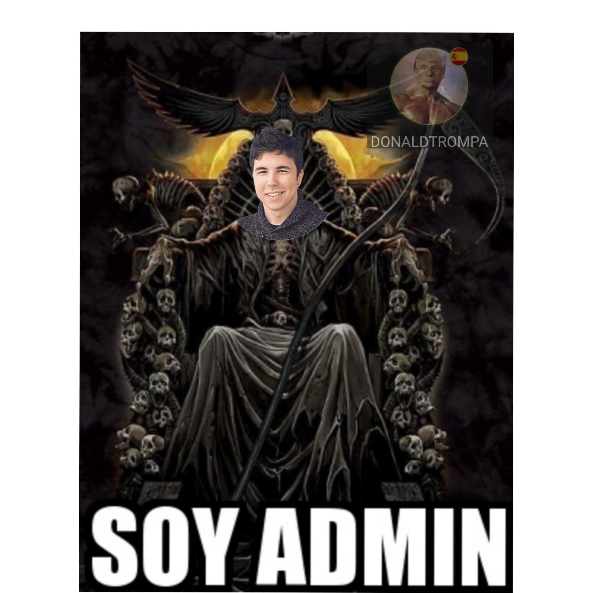 Eres Admin - meme