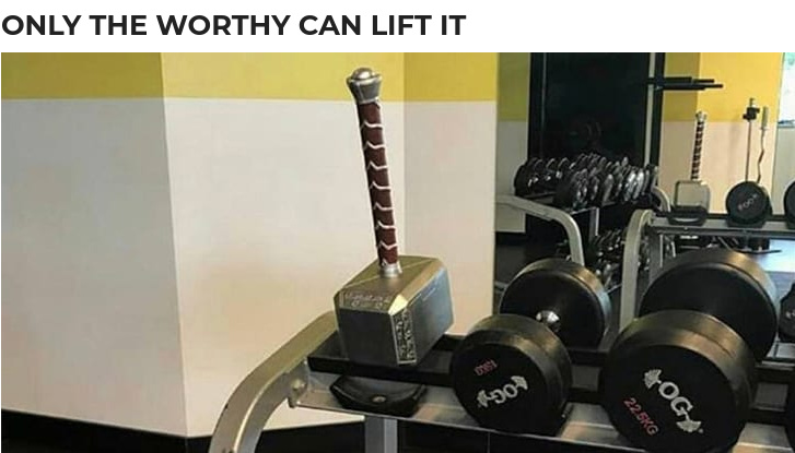 Are you worthy? - meme