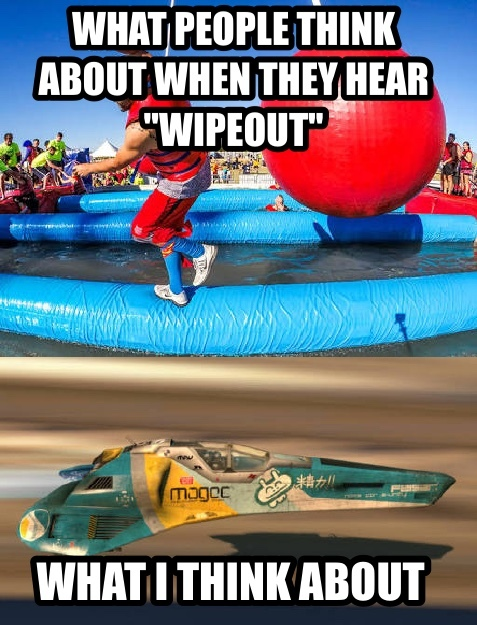 Wipeout vs. wipEout - meme