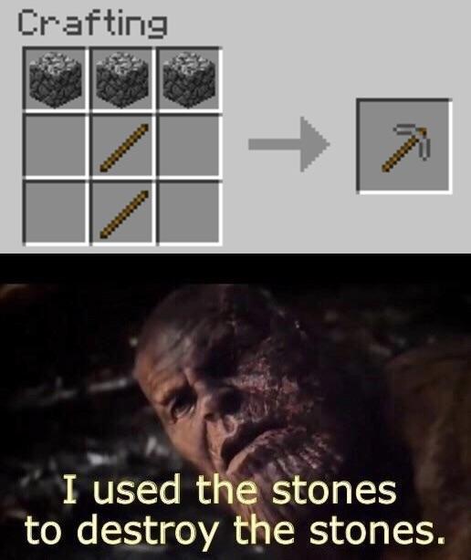 Jaja minecraft - meme