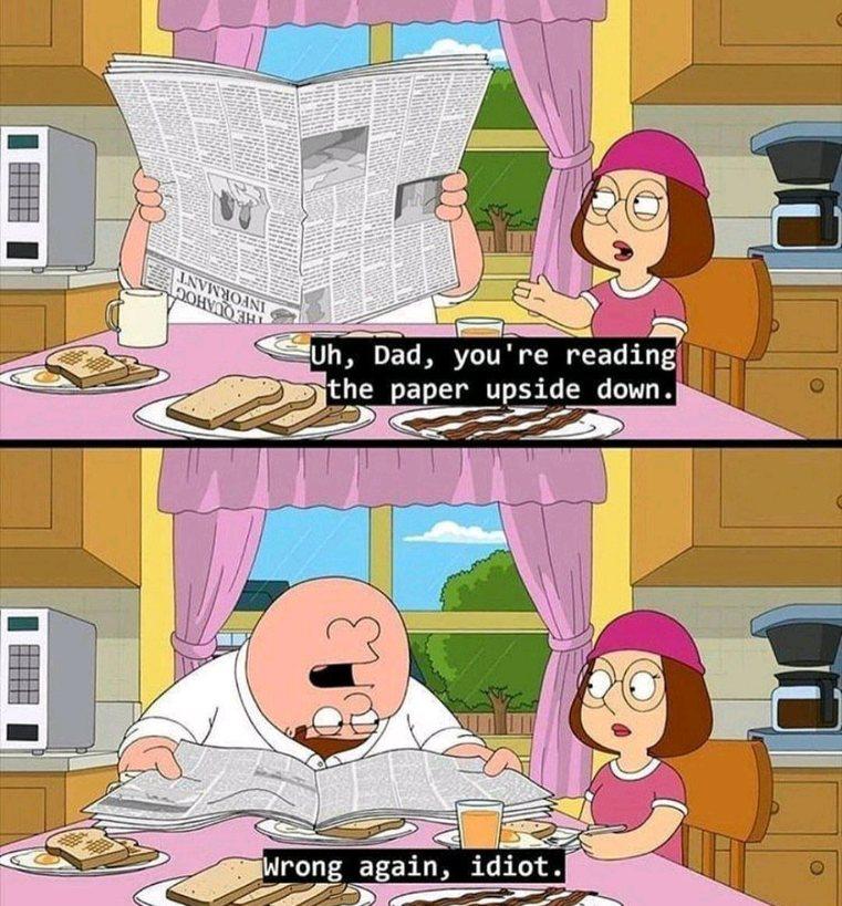 Shut up Meg!! - meme