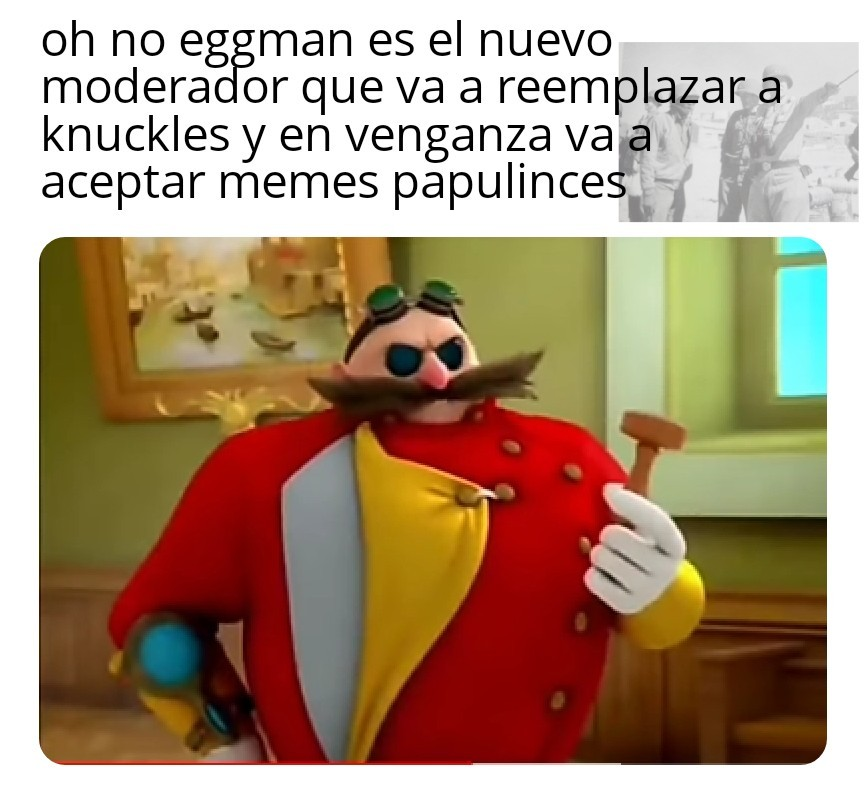 Traigan a knuckles - meme