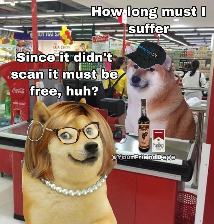 I've worked at target and Luckys and heard this line too many times - meme