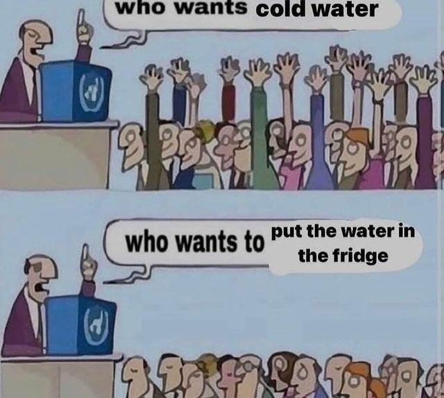 We live in a society - meme
