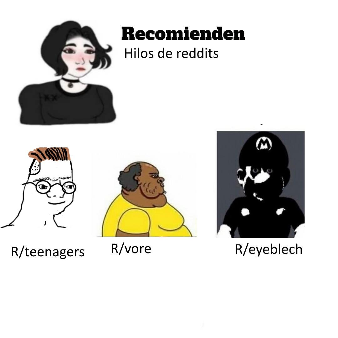 Contexto: https://www.reddit.com/r/eyeblech/ (no entres si quieres dormir) - meme