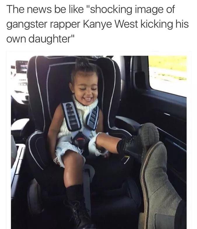 Kanye Is a god - meme