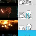 Eu assistindo a saga star wars
