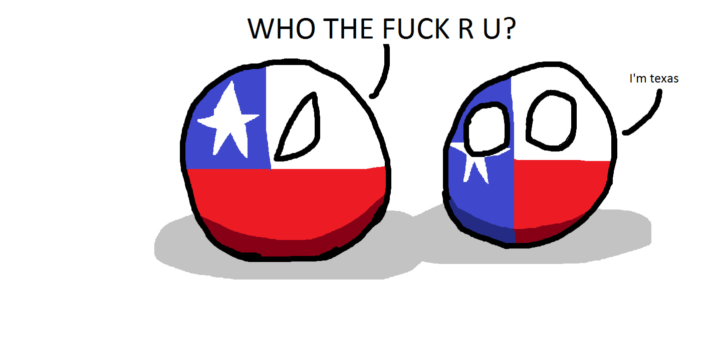 Chile and Texas - meme